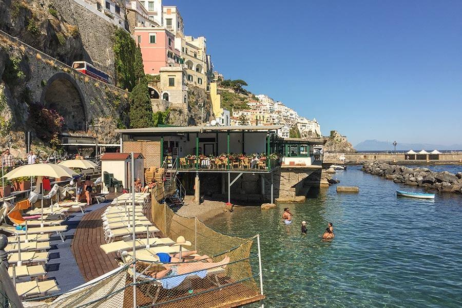 Amalfi Strand © Siegbert Mattheis