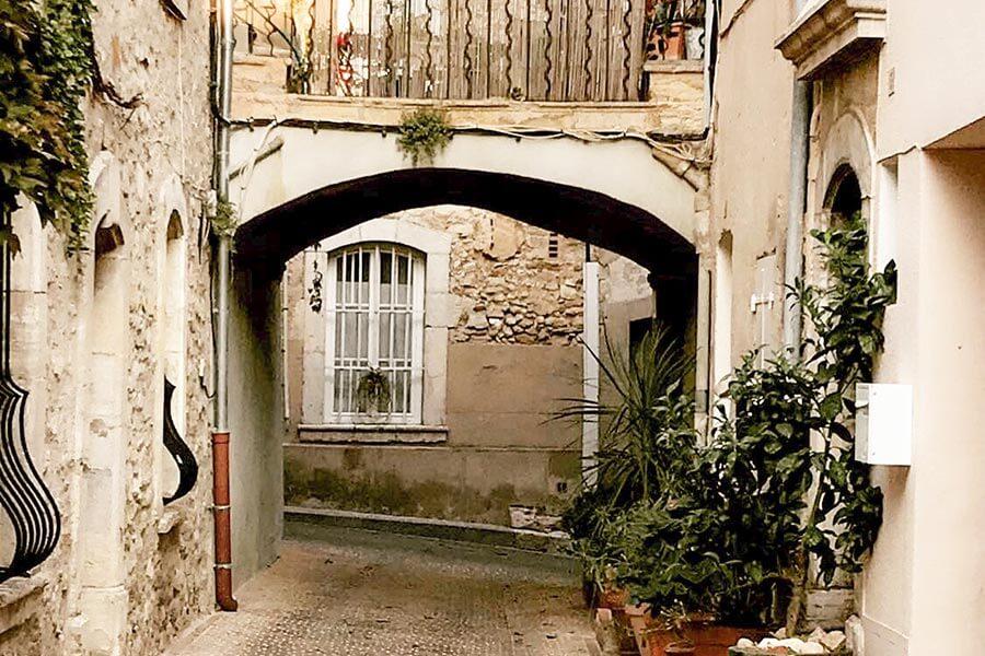 Verwinkelte Gassen in Le Castellet © OT Le Castellet