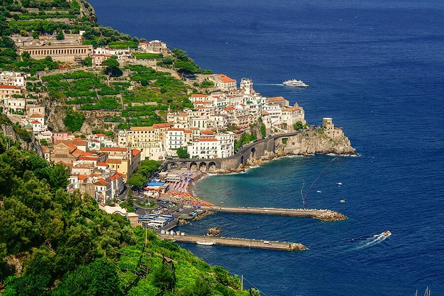 Strände in Amalfi © Siegbert Mattheis