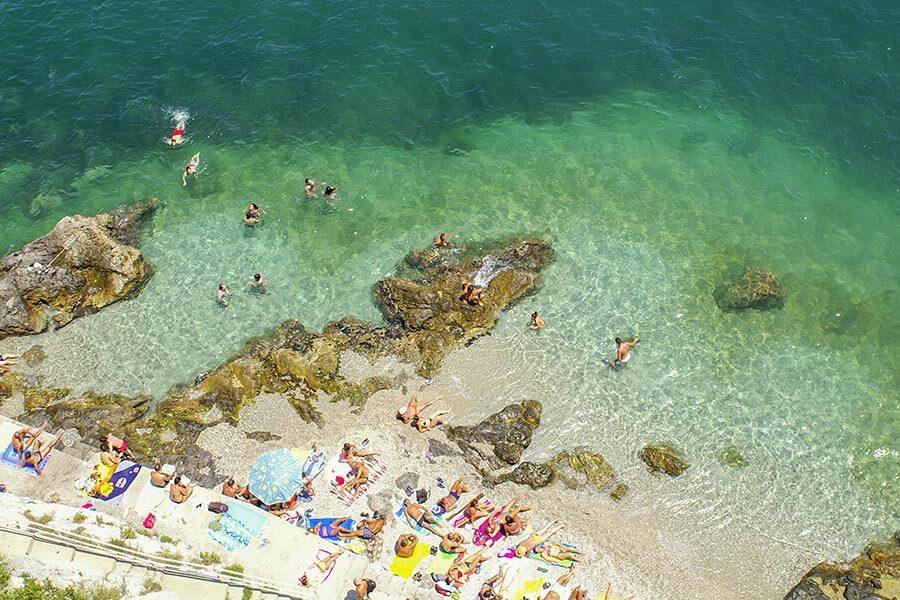 Strand Falalella bei Cetara © Siegbert Mattheis