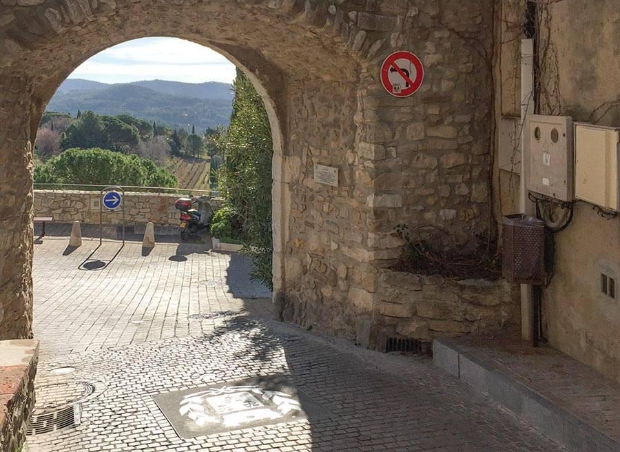 Le Portail in Le Castellet © Siegbert Mattheis