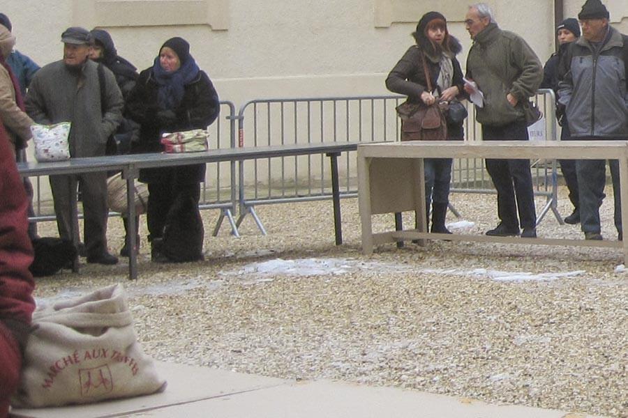 Nur in Säcken mit Aufdruck oder in Weidenkörben dürfen die Großhändler verkaufen © OT Ventoux Provence