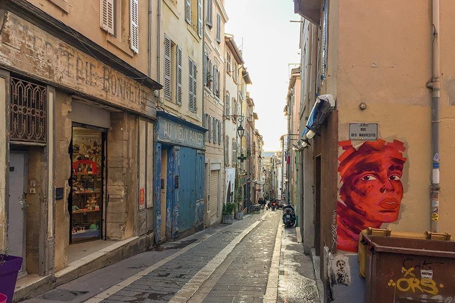Le Panier Viertel Marseille, Rue du Panier