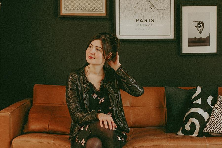 Die französische Modedesignerin Anne Durrieu © Vanessa Madec