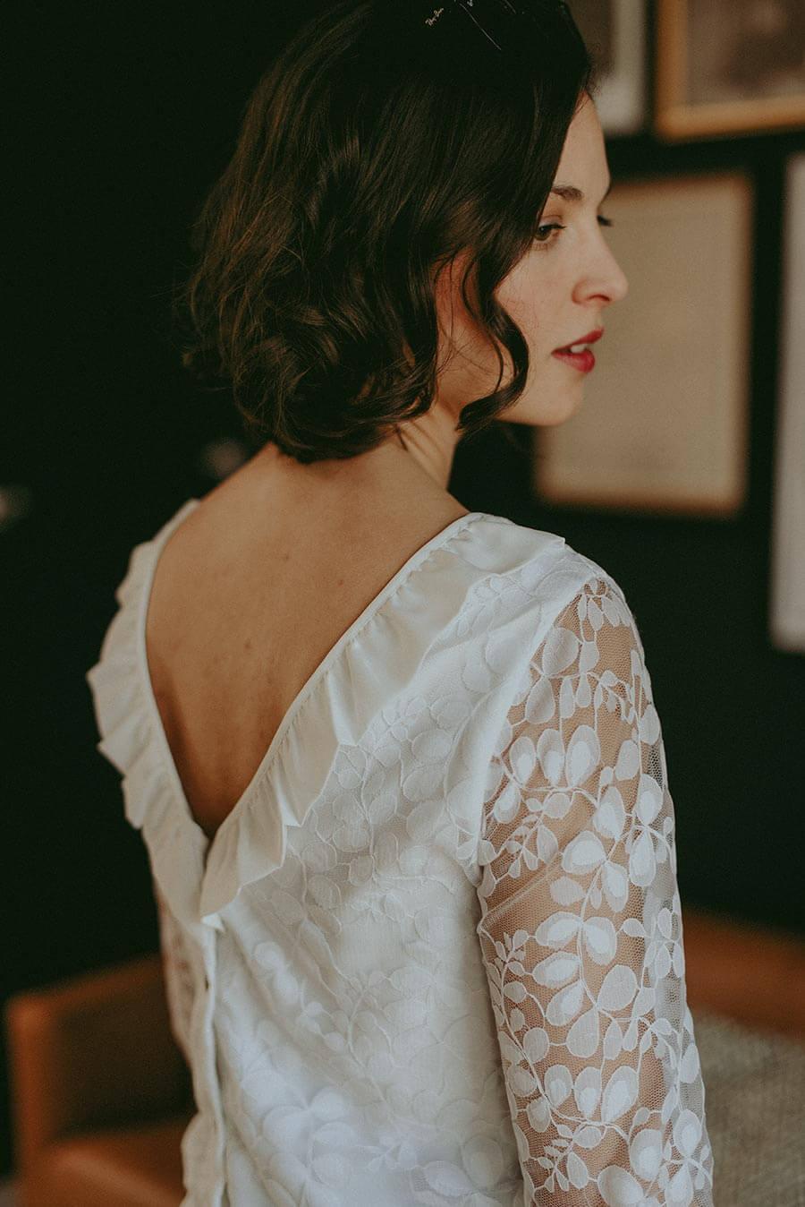 Anne Durrieu Spitzenbluse Valentine © Vanessa Madec