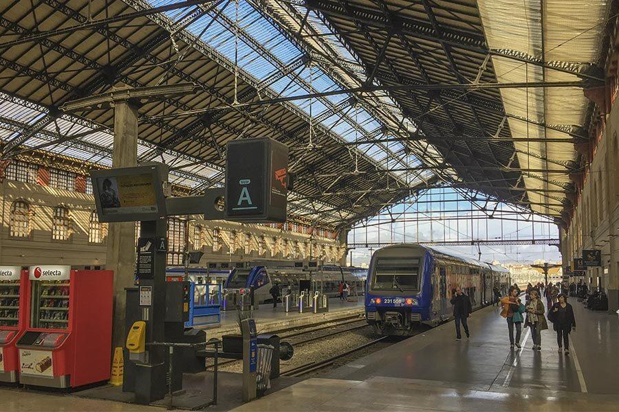 Der alte Bahnhof in Marseille © Siegbert Mattheis