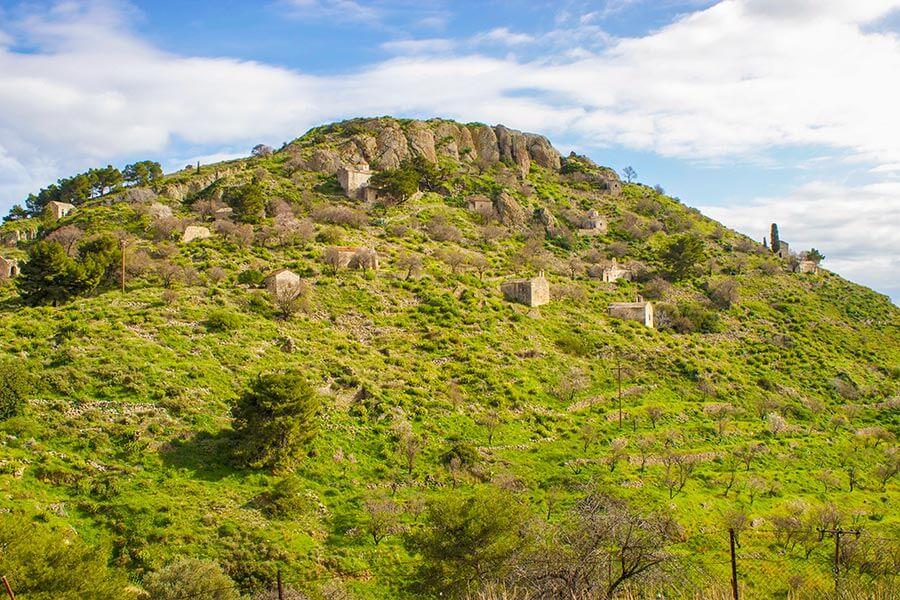 Paliochora, die frühere die Hauptstadt von Ägina © Siegbert Mattheis