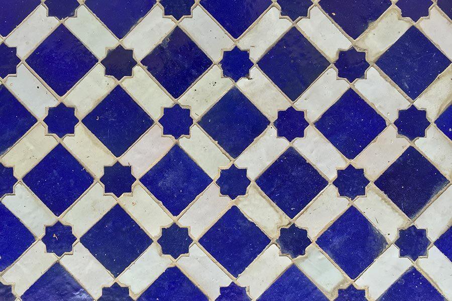 Andalusische Mosaik Keramik © Claudia Mattheis