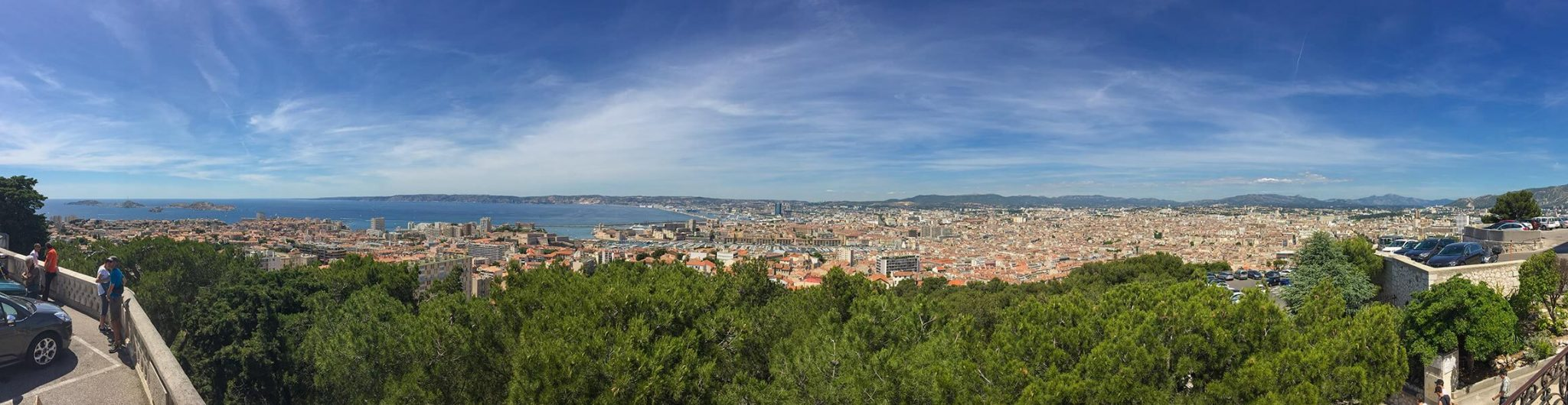 Panorama Marseille von Notre Dame de la Garde aus © Siegbert Mattheis