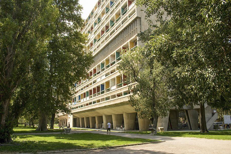 Le Corbusier Haus in Marseille © OTCM/FLC