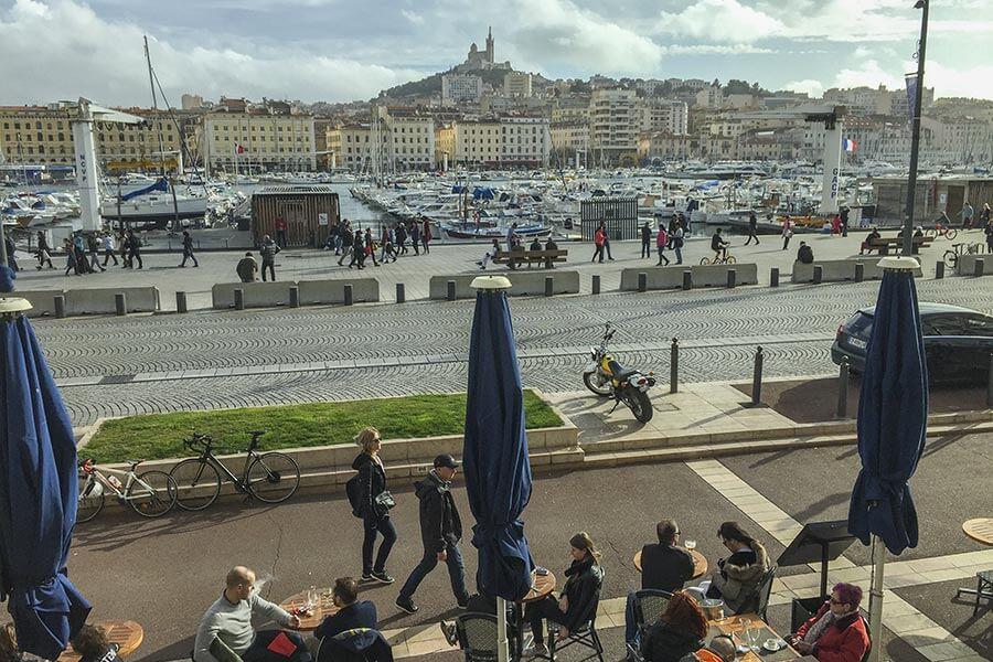 Marseille, Blick auf den Vieux Port © Siegbert Mattheis
