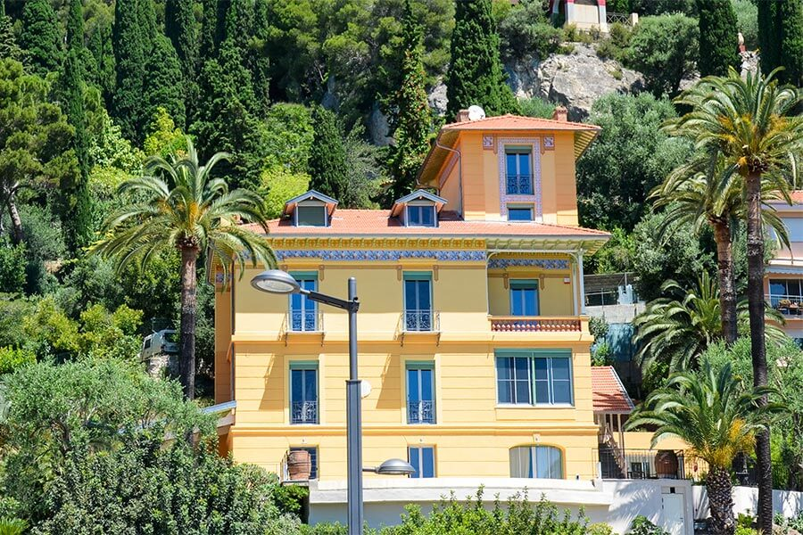 Belle-Epoque-Villa im Viertel Garavan © Siegbert Mattheis