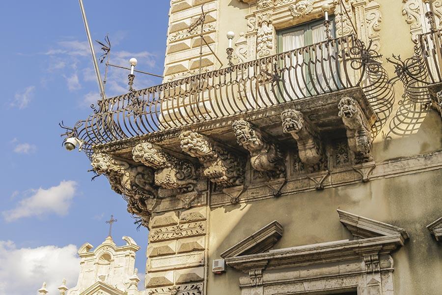 Sizilianischer Barock in Reinform, hier in Acireale © Siegbert Mattheis