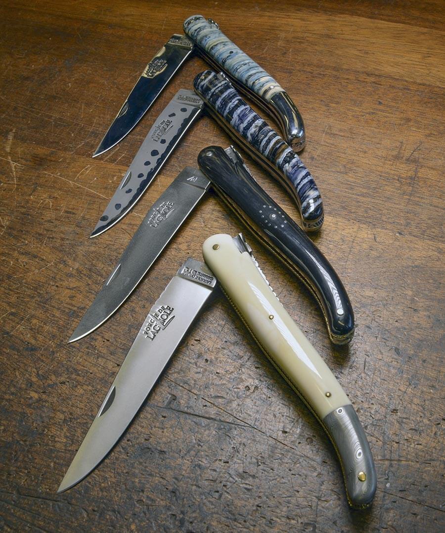 Laguiole Messer der Schmiede Forge de Laguiole © Thierry Moyset, Forge de Laguiole