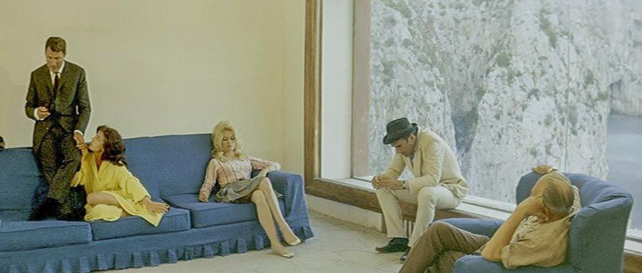 "Villa Malaparte 1963 im Film ""Le Mépris"" von Jean-Luc Godard © Cocinor"