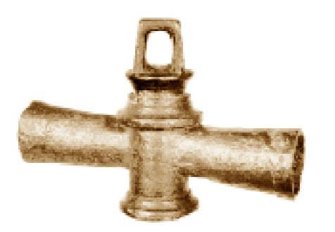 Ein Bronzeventil aus der Römerzeit © Wikipedia