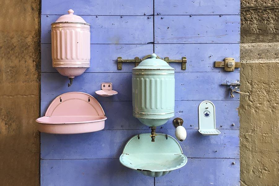Historische Wasserspeicher mit Waschbecken aus Marseille © Siegbert Mattheis