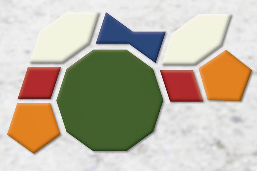 Girih-Kacheln: Durch ausgeklügelte mathematische Formen und Winkel konnten mit den Kacheln unendliche Muster entstehen © Siegbert Mattheis