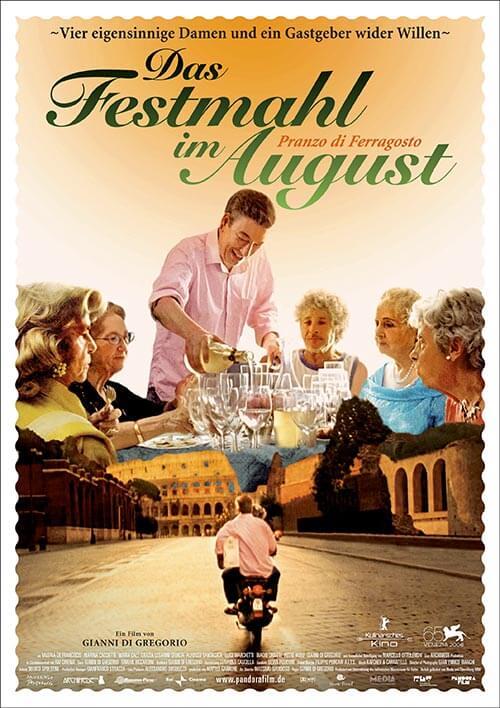 """Filmplakat zu Pranzo die Ferragosto, """"Das Festmahl im August"""" © Pandorafilm"""