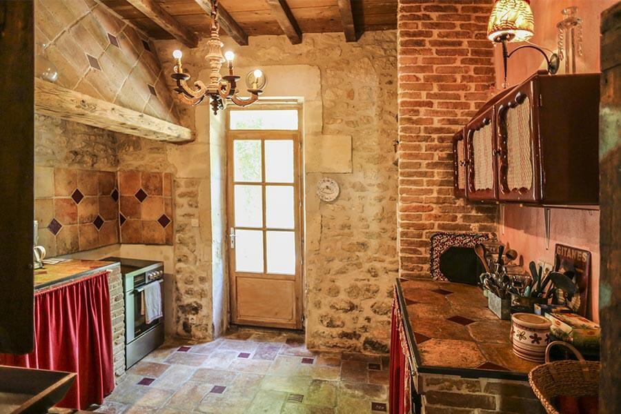 """Küche im Gut """"Domaine de Clos"""" in der Provence © Siegbert Mattheis"""
