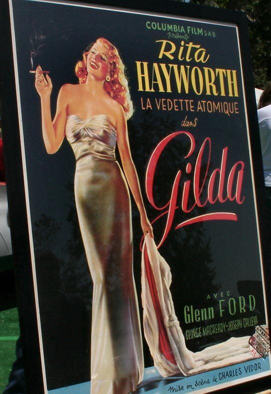 "Filmplakat ""Gilda"" mit Rita Hayworth © Wikipedia"