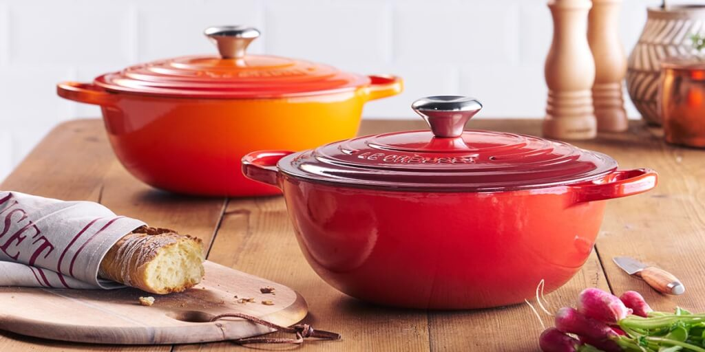 Le Creuset Bräter in ofenrot
