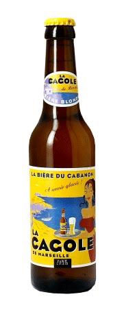 La Cagole Bier Flasche
