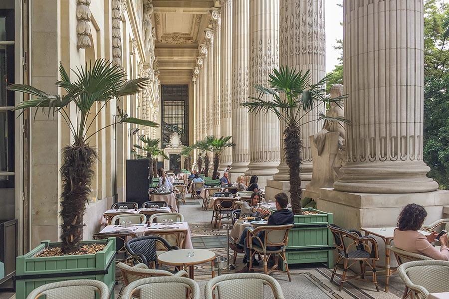 Eine großartige Kulisse, feines Essen und eine freundliche Atmosphäre im Minipalais © Siegbert Mattheis