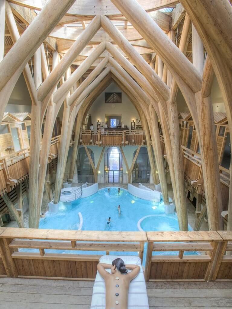 Aquensis, ein wahrer Badetempel in den Pyrenäen