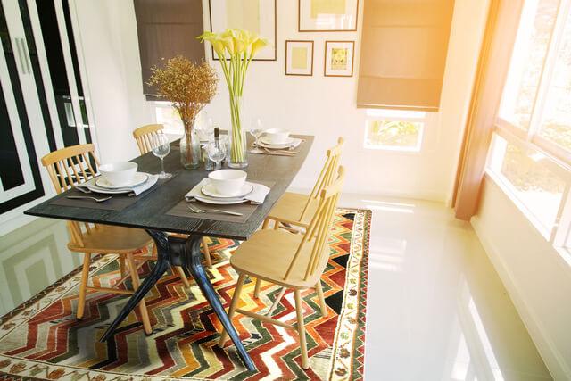 Traditioneller Kelim-Teppich in kräftigen Farben © Nain Trading