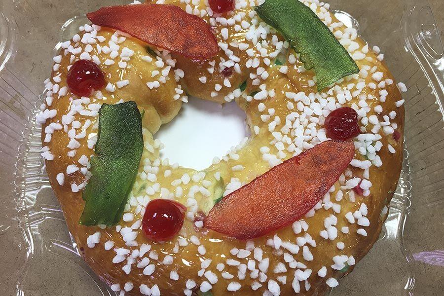 Im Rosco de Reyes ist eine kleine Königs-Figur und eine Bohne eingebacken © Siegbert Mattheis