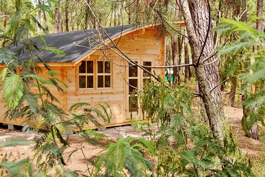 Luxus im Mobilhome auf dem Campingplatz Euronat an der Atlantikküste