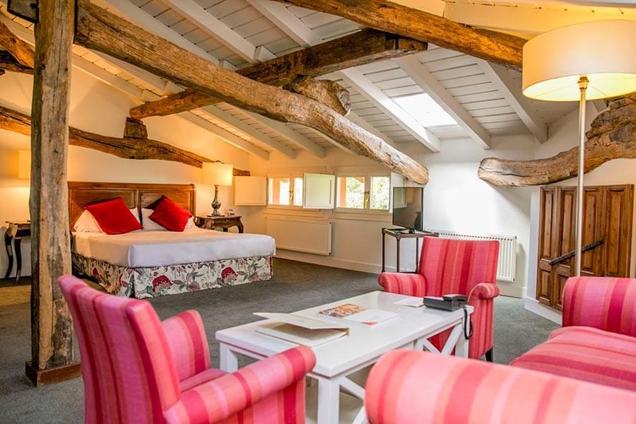 Zimmer im Hotel Zubieta