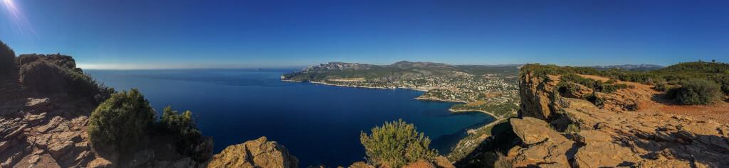 Beeindruckender Panoramablick vom Cap Canaille auf Cassis