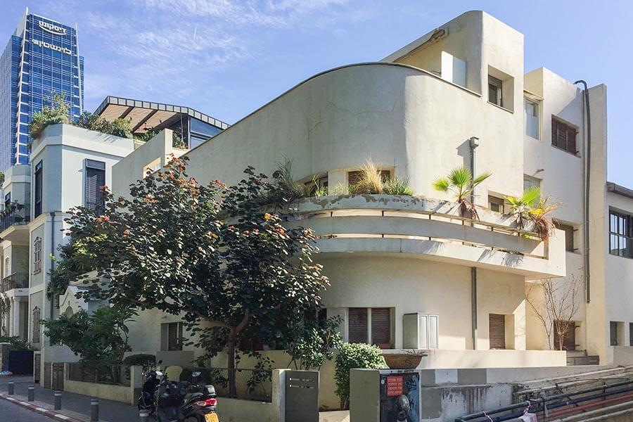 Das Soskin-Haus von 1933 in Florentin, 2005 renoviert © Siegbert Mattheis