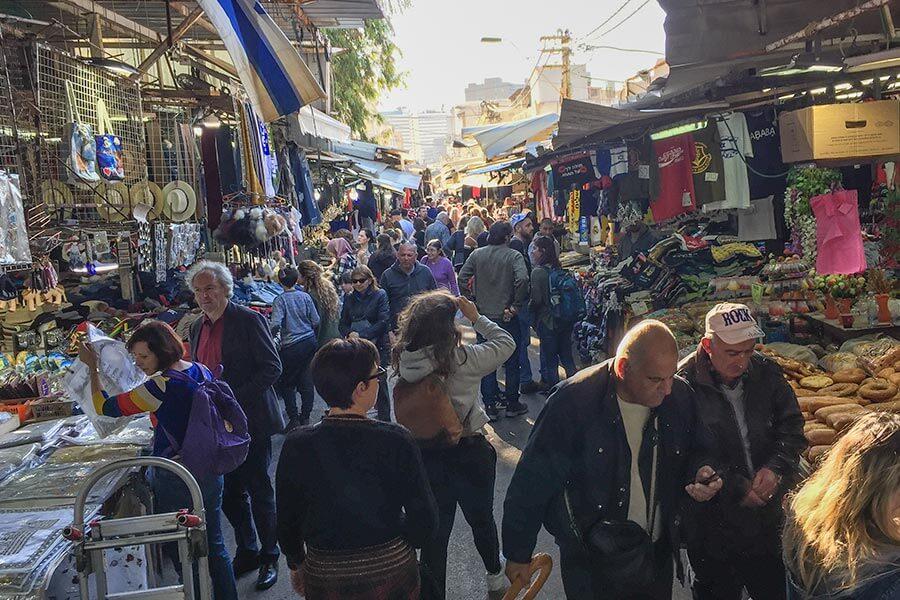 Auf dem Carmel Market findet man so gut wie alles © Siegbert Mattheis