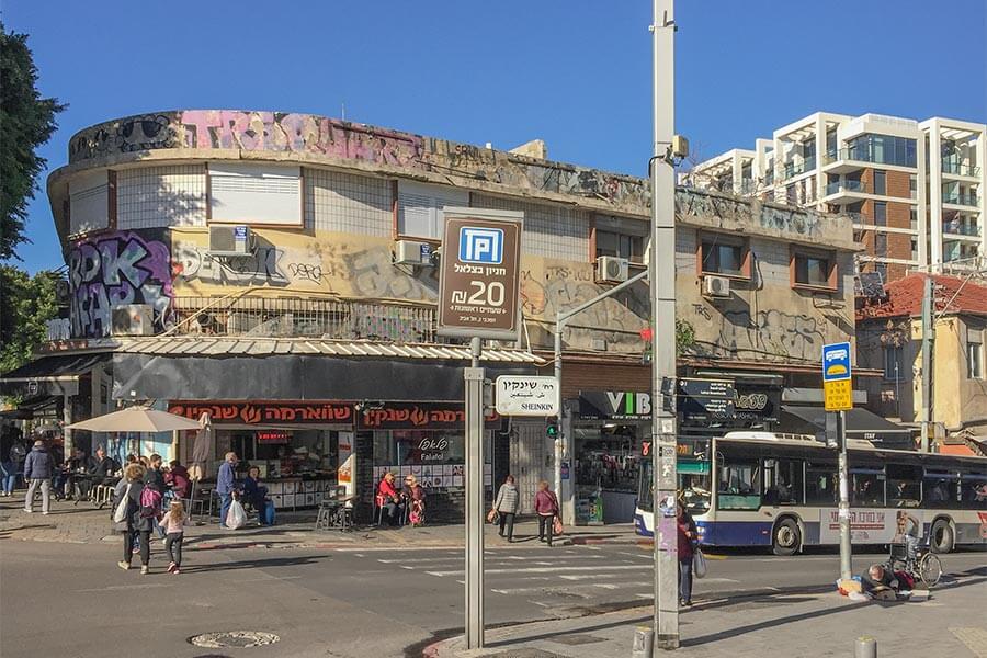 Auch das ist Tel Aviv: viele marode alte Gebäude © Siegbert Mattheis