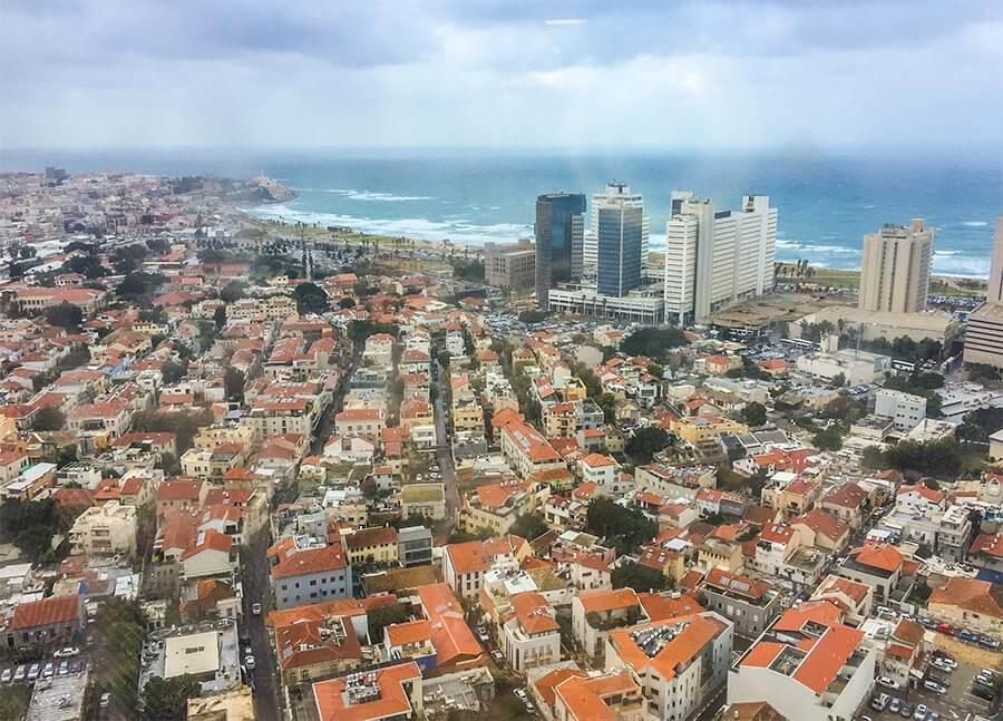 Tel Aviv-Tipps, Blick vom Shalom-Tower nach Jaffa