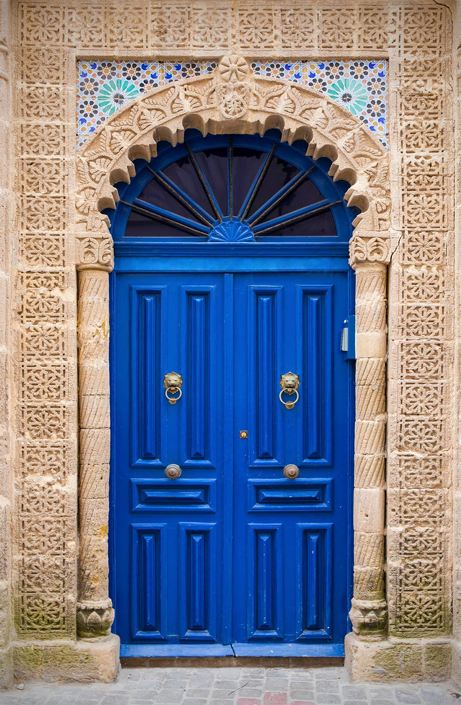 Typisches Blau der Türen in Marokko © Fotolia