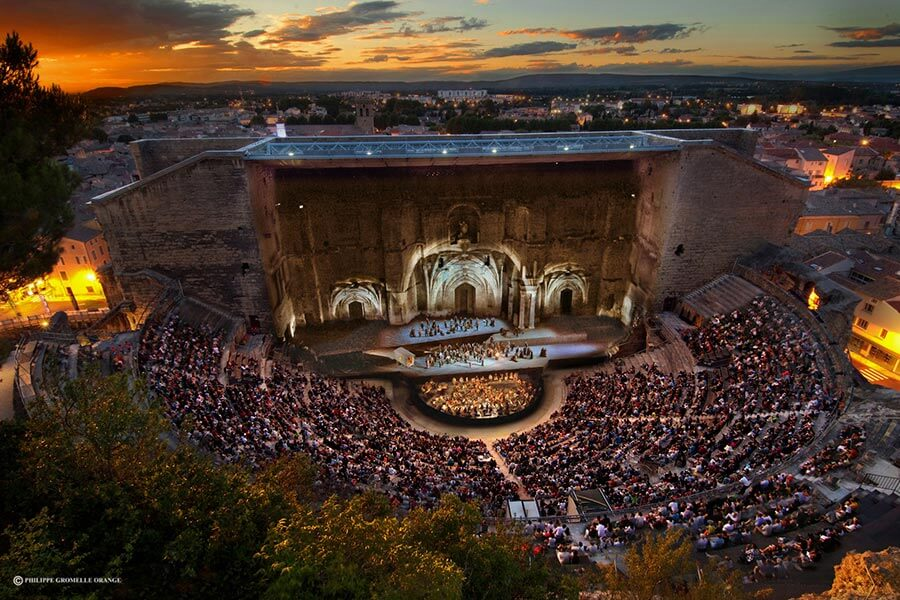 Opernfestival in Orange vor beeindruckender Kulisse © Philippe Gromelle