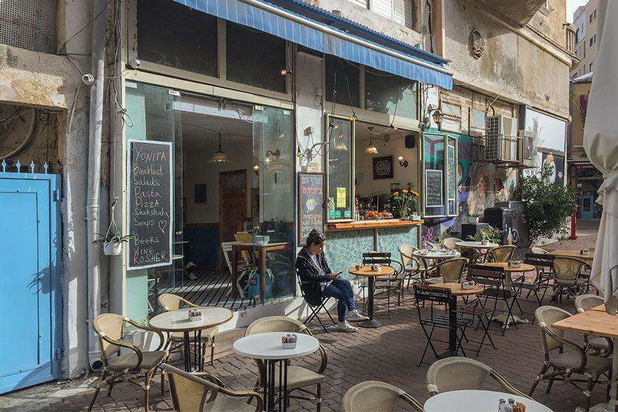 Yonita, unser Lieblings-Frühstück-Café beim Carmel Markt