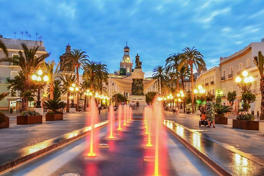 Plaza de San Juan de Dios © David Ibánez Montanez, CadizTurismo