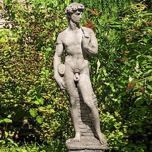 Gartenfigur David © Poetschke