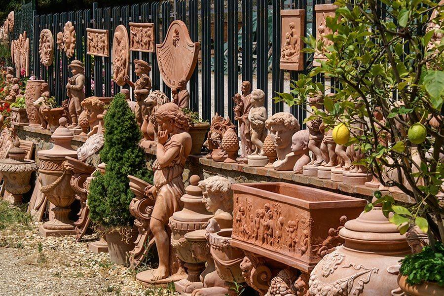 Idylle in Terracotta in Impruneta © Siegbert Mattheis