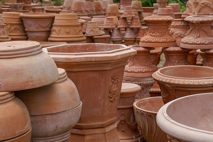 Vasen aus Impruneta Terracotta © Siegbert Mattheis