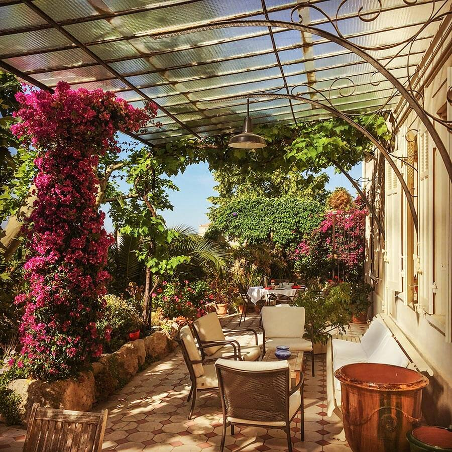 Traumhafte Terrasse in Marseille © Siegbert Mattheis