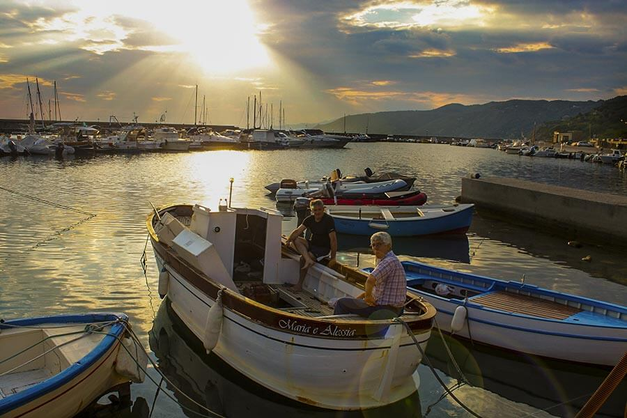 Fischer in Marina di Pisciotta © Siegbert Mattheis