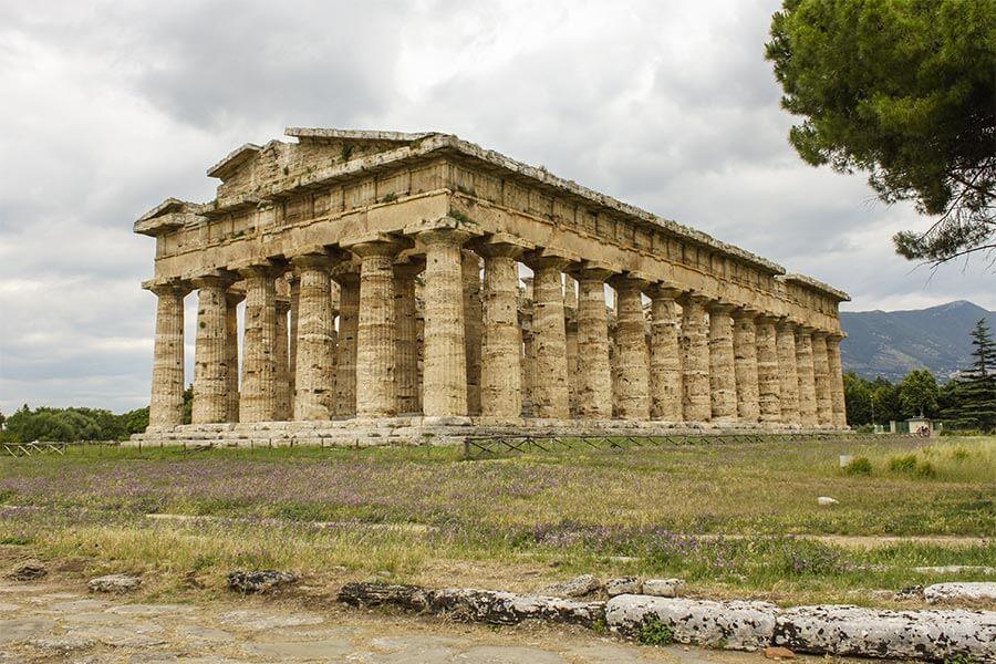 Der Poseidon-Tempel in Paestum © Siegbert Mattheis