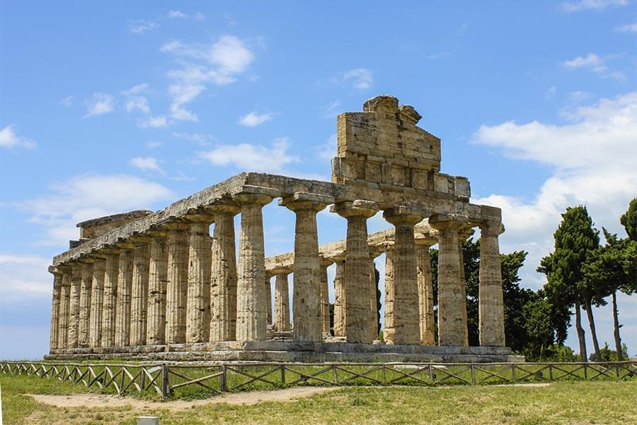 Athena-Tempel in Paestum © Siegbert Mattheis