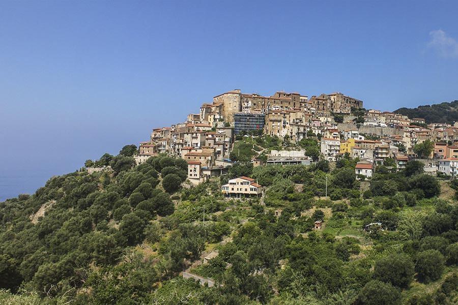 Pisciotta oben auf dem Berg mit fantastischer Aussicht © Siegbert Mattheis